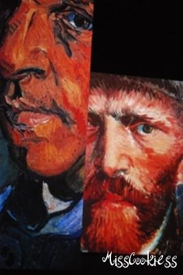 Van Gogh portrelerinden harika görüntüler
