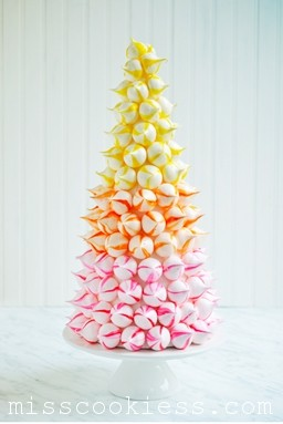 Meringue-tower